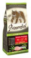 Primordial Grain Free Cat Urinary Сухой корм для кошек с МКБ (с индейкой и сельдью), 400г