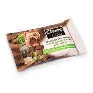 CHOCO DOG шоколад молочный с воздушным рисом лакомство для собак (15г)