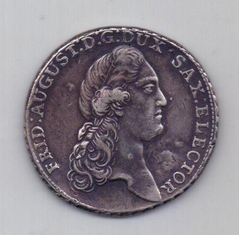 1 талер 1788 года Саксония Германия
