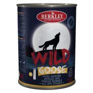 Berkley Adult Dog Wild №1 Консерва для взрослых собак с гусем, цукини, яблоками и лесными ягодами - 400 гр