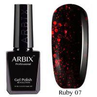 Arbix 007 Ruby Ночной Мегаполис Гель-Лак , 10 мл