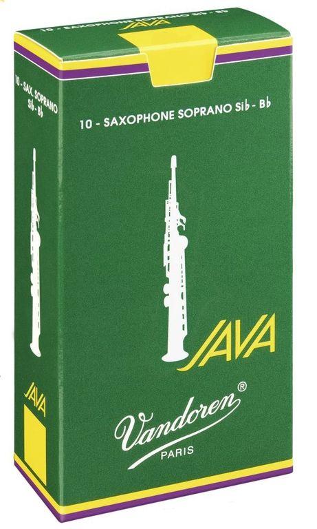 VANDOREN SR3025 JAVA Трость №2,5 для саксофона Сопрано