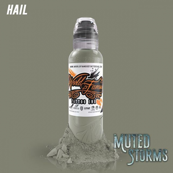 World Famous Ink  Poch's Muted Storms Set - Hail