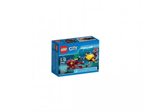 60090 Глубоководный скутер. Конструктор Lego City