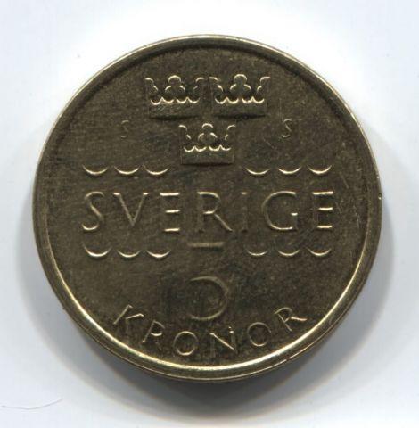 5 крон 2016 года Швеция