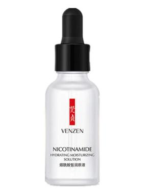Увлажняющая и выравнивающая сыворотка для лица с никотинамидом Venzen.(29497)