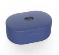 Силиконовый чехол для наушников Xiaomi Redmi Airdots ( Темно-синий )
