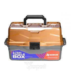Ящик для снастей Nisus Tackle Box трехполочный N-TB-3-GO