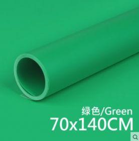 Фон пластиковый ПВХ 70х140 зеленый матовый