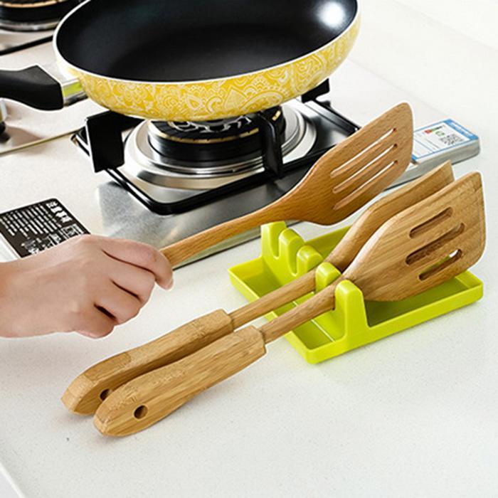 Подставка для кухонных принадлежностей Kitchen Utensil Rest (цвет зеленый)