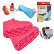 Водонепроницаемые защитные чехлы для обуви, размер M, Розовый