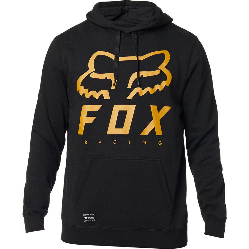 Fox Heritage Forger Pullover Hoodie Black толстовка, черная