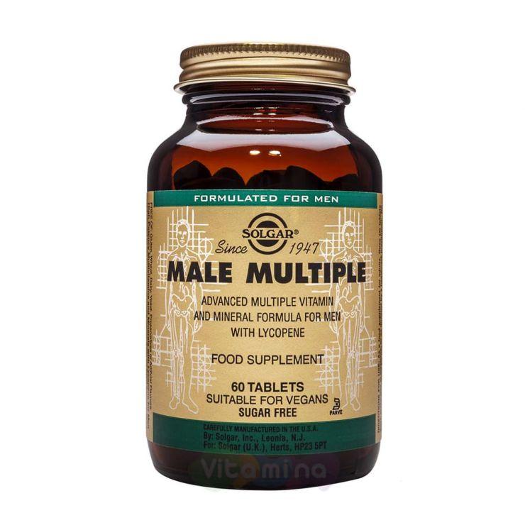 Солгар Мультивитаминный комплекс для мужчин