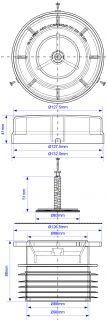 Вентиляционные клапаны аэраторы для внутренней канализации