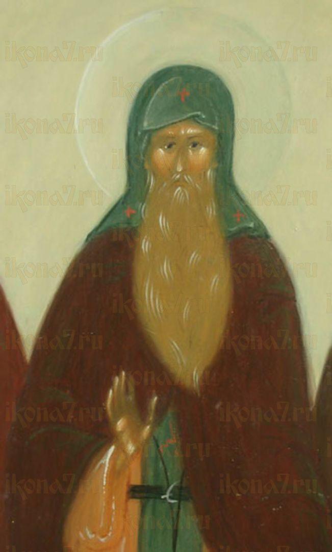 Икона Лаврентий Комельский преподобный