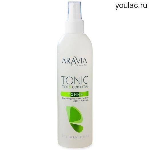 Тоник для очищения и увлажнения кожи, 300 мл, ARAVIA Professional
