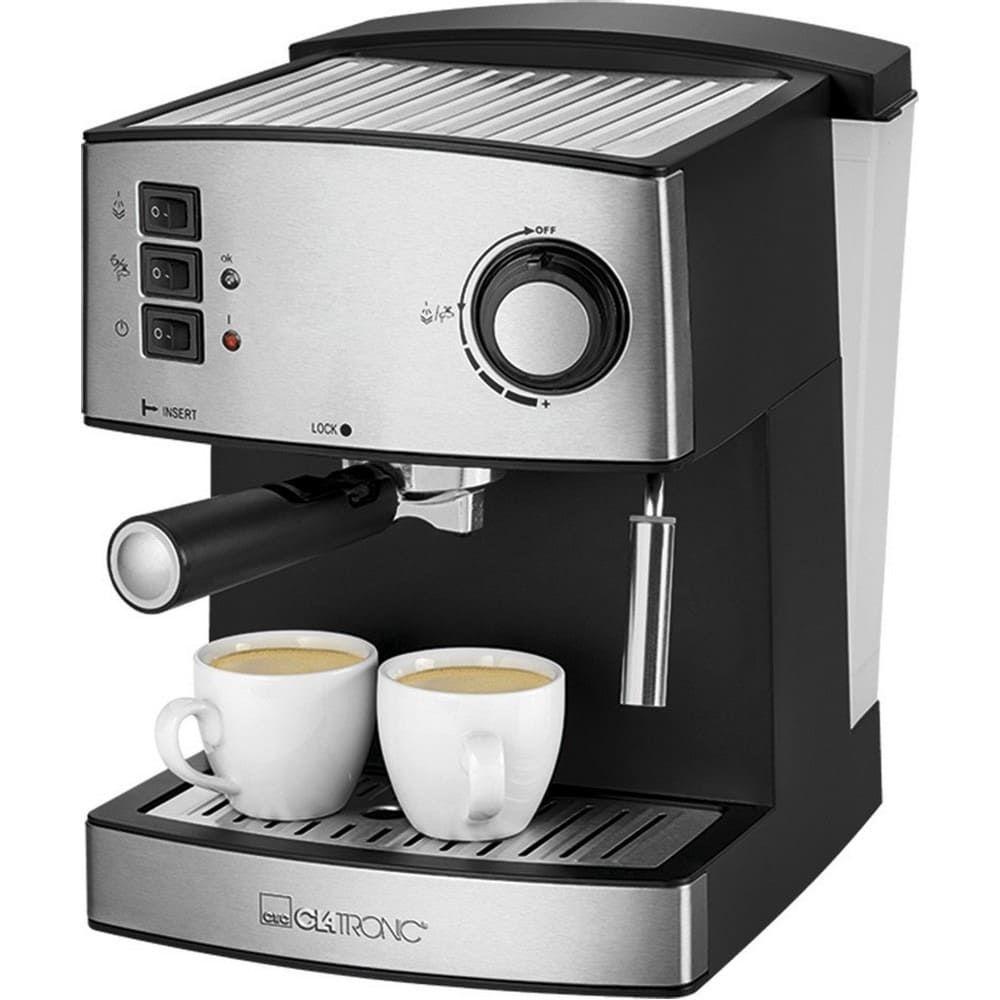 Кофеварка Clatronic ES 3643 schwarz-inox