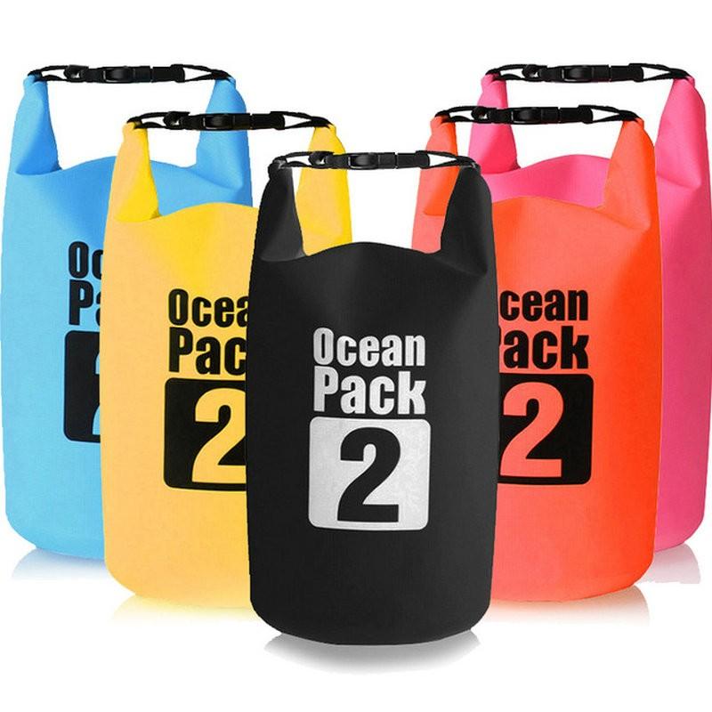Водонепроницаемая сумка-мешок Ocean Pack 2 л