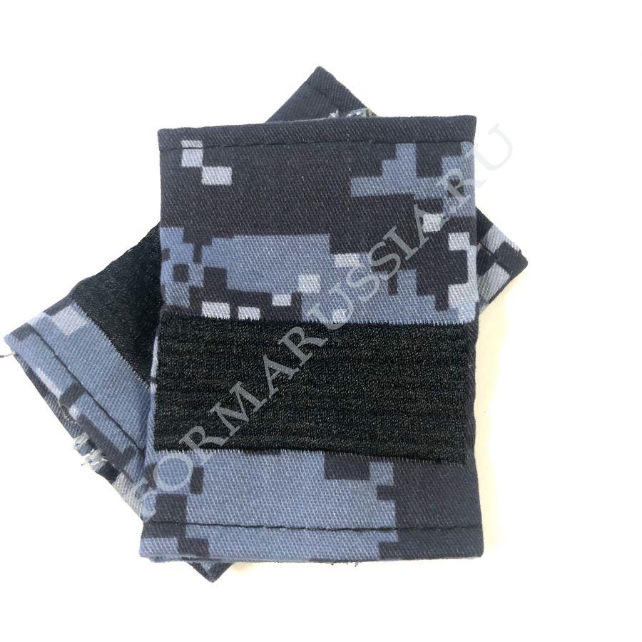 Фальш-погоны старший сержант синяя точка