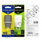 СЗУ с 2 USB выходами Borofone BA25A 2.1A белый