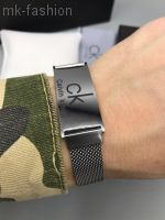 Мужской стальной браслет, размер регулируется