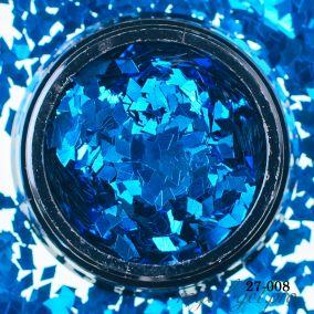 Камифубики Hanami Ромбики, голубой, 2мм