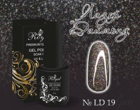 "Royal гель лак ""Лазер Даймонд""  10 мл LD019"