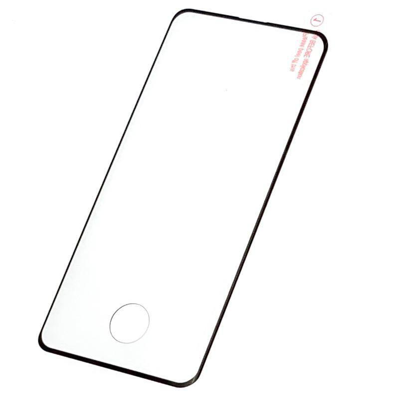 Защитное стекло на Samsung s10 plus с рамкой(черное)