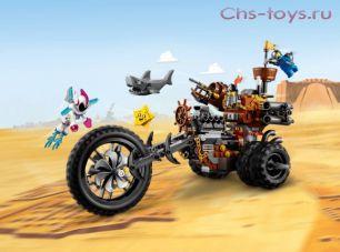 Конструктор Lari Кино 2 Хеви-метал мотоцикл Железной бороды 11247 (70834) 470 дет