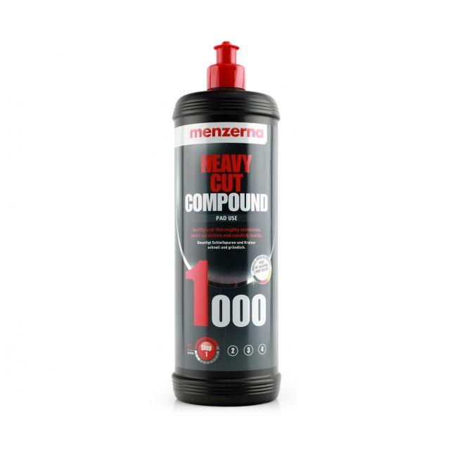 Menzerna Heavy Cut Compound 1000 Высокоабразивная полировальная паста, 1кг.