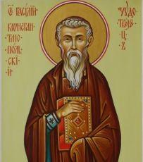 Икона Вассиан Константинопольский прёподобный