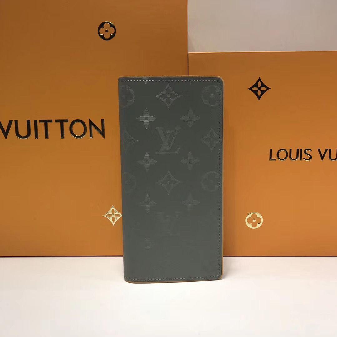 Портмоне Louis Vuitton Brazza Monogram Titanum