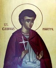 Икона Гавиний Римский священномученик