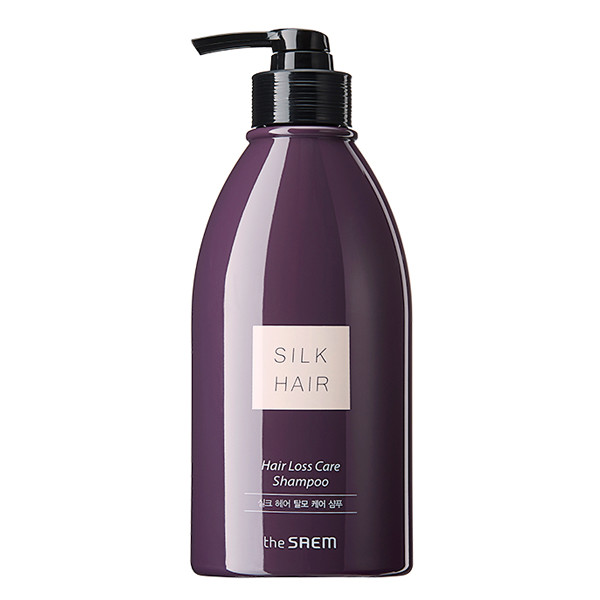Шампунь против выпадения волос The Saem Silk Hair Anti-Hair Loss Care Shampoo