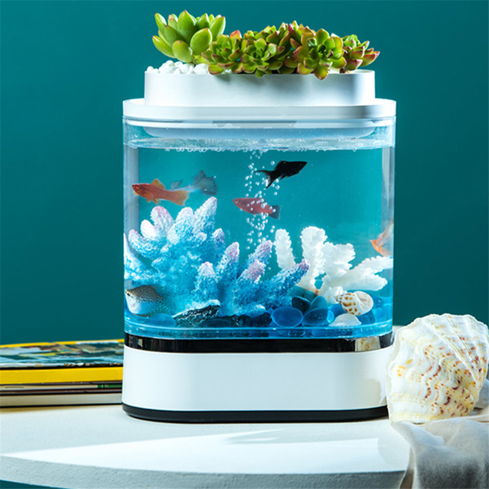 Аква-ферма Xiaomi Mini Lazy Fish Tank