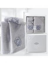 Комплект из 2-х махровых полотенец DAVIS 50*90+70*140 Арт.3414-5