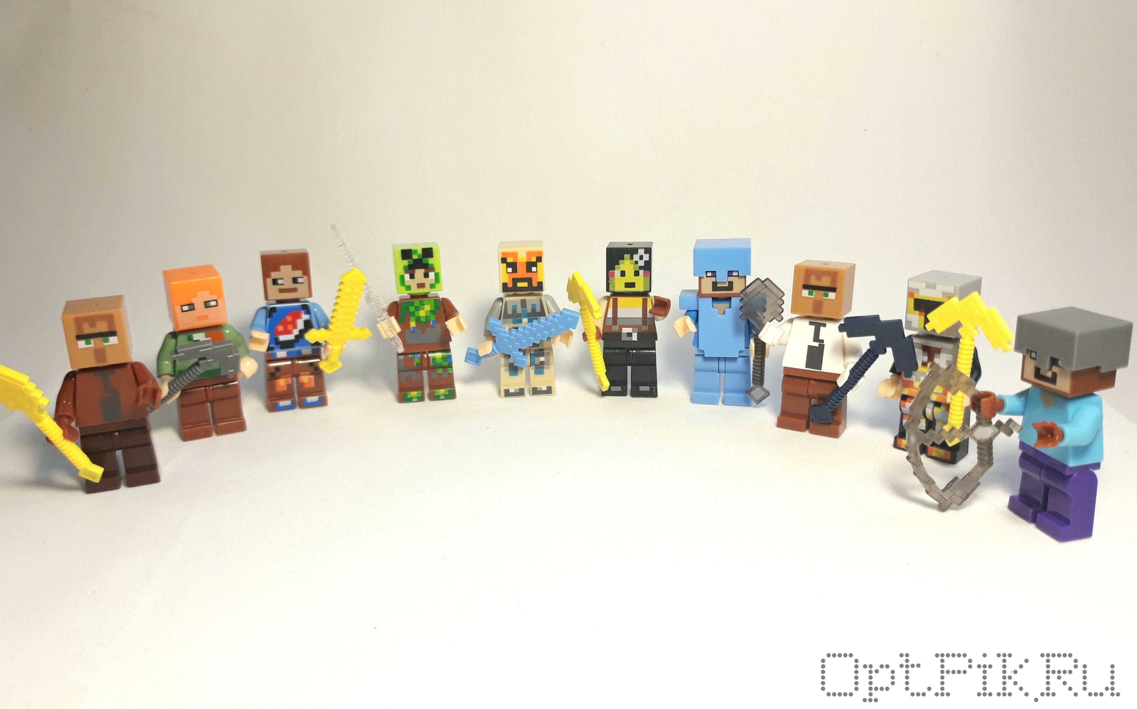 Шарик-сюрприз Персонажи Майнкрафт Minecraft