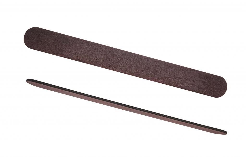 Пилка WIVO коричневая 180/240 грит (тонкая, прямая) Япония 1 шт.
