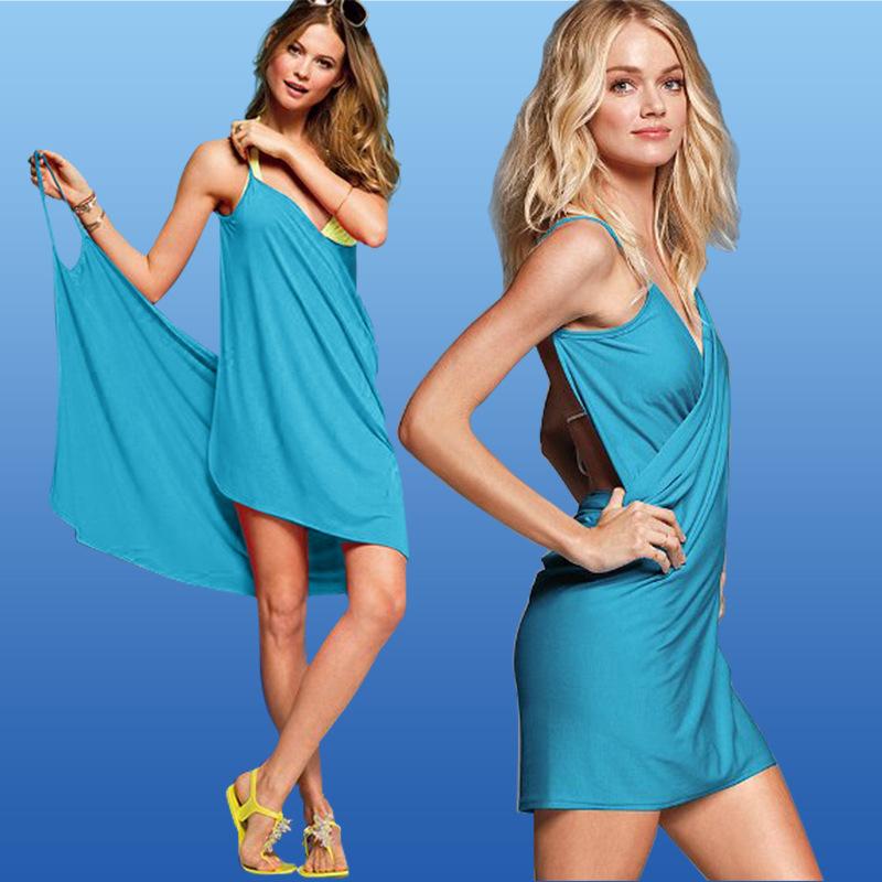 Универсальное пляжное платье трансформер