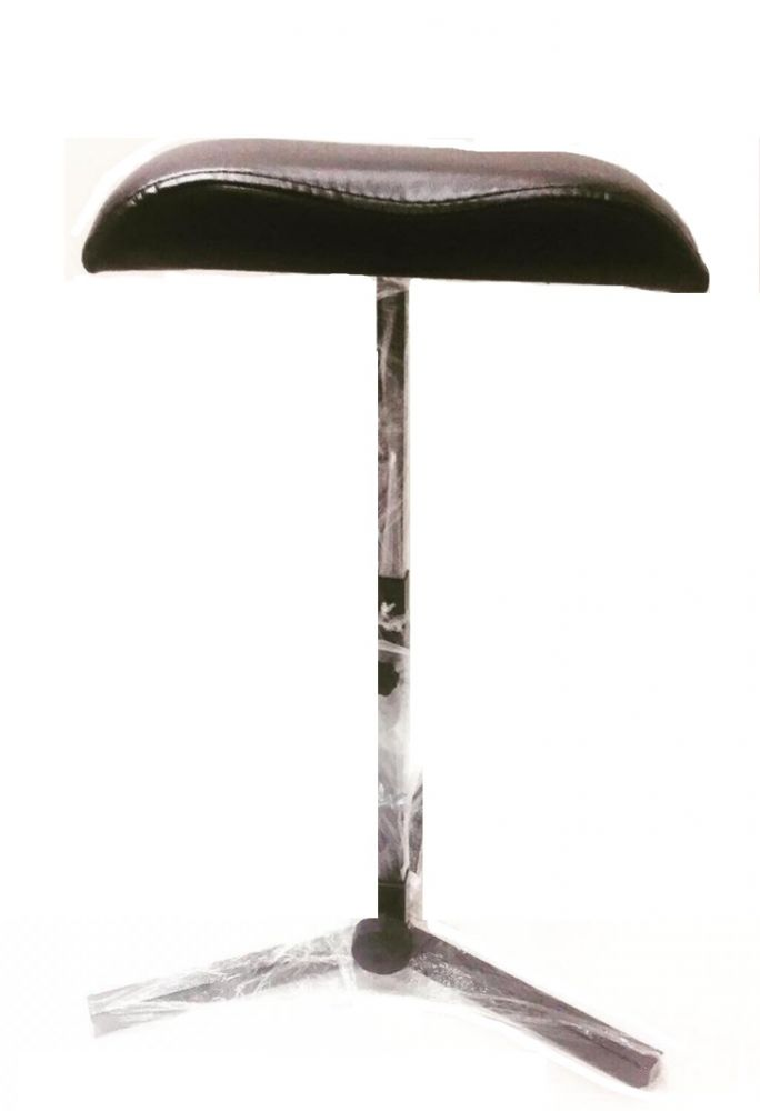 Подставка педикюрная для ног (тренога), черная