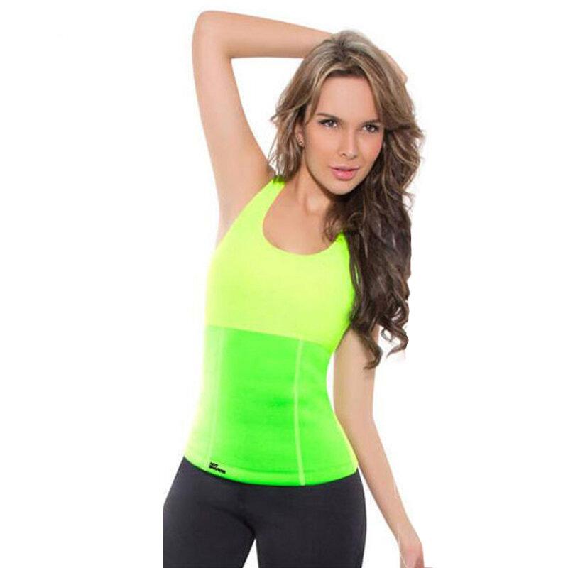 Майка для похудения Hot Shapers (Хот Шейперс), цвет зелёный
