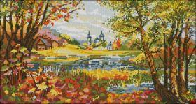 Феникс Колибри. Роща Осин Осенью. А3 (набор 2450 рублей)