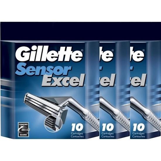 Лезвия Gillette Sensor Excel  (30шт)