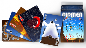 Pipmen Version 2: World Full Art Playing Cards by Elephant Playing Card