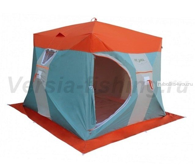 Палатка для зимней рыбалки Митек Нельма-Куб 3 Люкс Профи