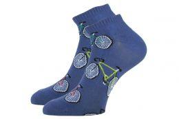 """Мужские цветные укороченные носки 418""""К"""" велосипеды"""