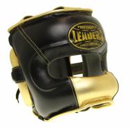 Шлем боксерский LEADERS Limited BK/GD с бамперной защитой
