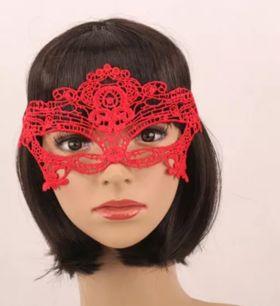маска красная, модель 5