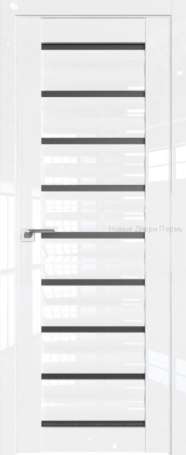 76 L Белый люкс глянцевая дверь - PROFIL DOORS двери