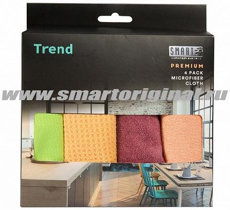Smart Microfiber Комплект салфеток Тренд 32 х 31 см 4 шт